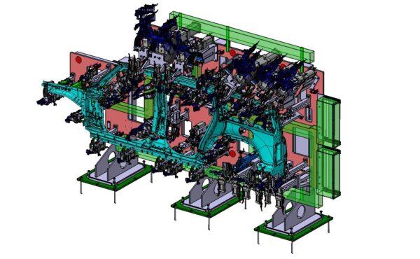 JLR L462 L663 – CATIA V5